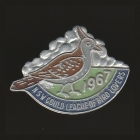 1967 Gould League of Bird Lovers NSW Member Badge Pin