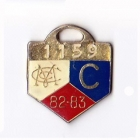 1982-83 Melbourne Cricket Club Country Member Badge