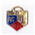1982-83 Melbourne Cricket Club Junior Provisional Member Badge