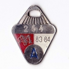 1983-84 Melbourne Cricket Club Auxiliary Member Badge