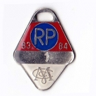 1983-84 Melbourne Cricket Club Restricted Provisional Member Badge No 1