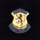 1980s Merewether District Cricket Club Pin Badge