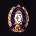 1961 Carlton Cricket Club Pin Badge