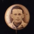 1946-47 D Tallon Australian & English Players Button Badge