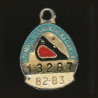 1982-83 Cronulla Sutherland Leagues Club Member Badge