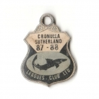 1987-88 Cronulla Sutherland Leagues Club Member Badge