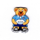 2005 NSW State of Origin Bear Pin Badge