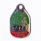 1979 South Sydney Juniors Leagues Club Associate Member Badge