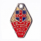 1979 NSW Leagues Club Member Badge