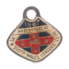 1987 NSW Leagues Club Member Badge