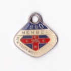 1990 NSW Leagues Club Member Badge