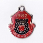 1982 North Canberra Rugby League Club Member Badge