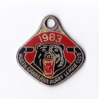 1983 North Canberra Rugby League Club Member Badge