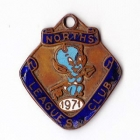 1971 Northern Suburbs Leagues Club Member Badge