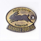 2002-03 South Sydney NRL Member Badge
