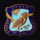 1938 Gould League of Bird Lovers Victoria Kookaburra Badge Pin LGNb