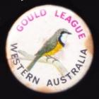 1980 Gould League WA Member Button Badge Pin