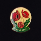 Soldiers Poppy Day Clasp Pin $2