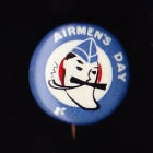 Airmens Day Button Badge 22mm 1s