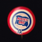 Allies Day Button Badge 22mm 6d