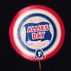Allies Day Button Badge 33mm 1s