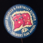 Disabled Soldiers Button Badge 33mm 1s