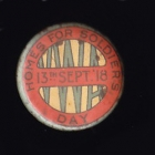 Homes for Soldiers  Button Badge 22mm