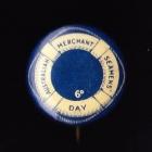 Merchant Navy Button Badge 22mm 6d