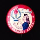 War Orphans Button Badge 25mm 1s