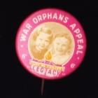 War Orphans Button Badge 25mm 6d