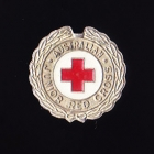 Red Cross Clasp Pin