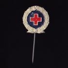 Red Cross Stick Pin 2s