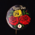 Rose Day Button Badge 25mm 1s