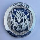 2015 Canterbury Bankstown Bulldogs 80 Years Pin Badge