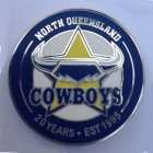 2015 North Queensland Cowboys 20 Years Pin Badge