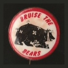 1968 North Sydney Bears NSWRL Anti Supporter Scanlens Button Badge