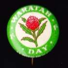 Waratah Day Badge 26mm 1s