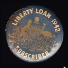 Liberty Loan Subscriber Button Badge 22mm