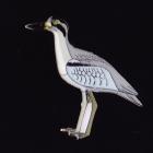 2013 BirdLife Beach Stone-Curlew Pin Badge