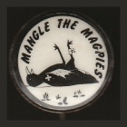 1968 Western Suburbs Magpies NSWRL Anti Supporter Scanlens Button Badge
