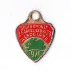 1976 South Sydney Leagues Club Associate Member Badge