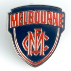 2016 Melbourne Demons AFL Logo Trofe Pin Badge