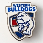 2015 Western Bulldogs AFL Logo Trofe Pin Badge