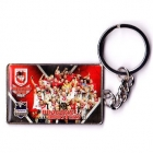 2010 St George Illawarra Dragons NRL Premiers Team Keyring Badge