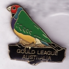 1996 Gould League Victoria Badge Pin