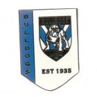2017 Gold Coast Titans NRL Logo Trofe Pin Badge