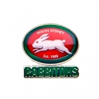 2017 South Sydney Rabbitohs NRL Logo Trofe Pin Badge