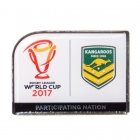 2017 Australia RLWC Trofe Pin Badge
