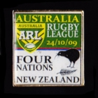 2009 RL Four Nations Australia v New Zealand Pin Badge