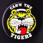 1970s Richmond Tigers VFL Carn The Tigers Button Badge
